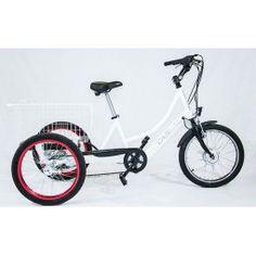 Triciclo eléctrico BKL Casual #triciclo #movilidad #comodidad #ortopedia…