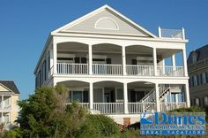 Oceanfront Litchfield Beach SC Vacation Rentals | C.+Thomas+House