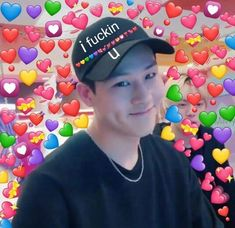 Beauty is something from within~ follow me at et_2004 for more~ £øvè£ý~ Jooheon, Hyungwon, Kihyun, Meme Pictures, Reaction Pictures, K Meme, Dankest Memes, Meme Faces, Funny Faces