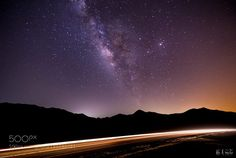 Milky Way Road I  The milky way shot at a remote road East of Rabigh City West of Saudi Arabia مجرة درب التبانة مساء الأمس على طريق نائي شرق مدينة رابغ  Camera: Canon EOS 6D Lens: TAMRON SP 15-30mm F/2.8 Di VC USD A012 Focal Length: 15mm Shutter Speed: 30sec Aperture: f/2.8 ISO/Film: 3200  Image credit: http://ift.tt/2292aMv Visit http://ift.tt/1qPHad3 and read how to see the #MilkyWay  #Galaxy #Stars #Nightscape #Astrophotography