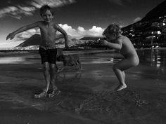 My boys at the beach x