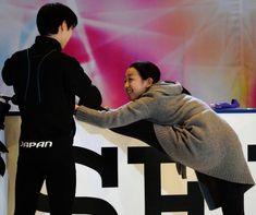 Mao and Yuzuru    NHK Trophy 2015