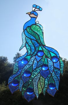 This is lovely, nice colours and shapes. A hit!  Stained Glass... love making it Visit serenityexpressions.com