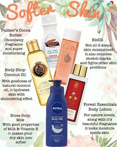 Get Softer Body With These Lotions And Oils. Here's a variety of products to choose for softer and moisturised skin during winters.  https://www.estrolo.com/whatstrending/cat/beauty/ #SkinCare #Lotion #Beauty #Bodyoils #EstroloFashion