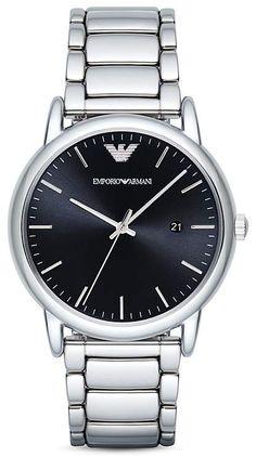bf357d18c6b3 Emporio Armani Quartz Chronograph Black Nylon Watch