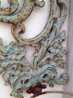 The Swirls And Rust And Patina On This by PocketFullOfHeirloom