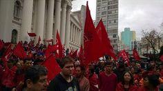 5 mil saem às ruas de Curitiba em apoio a Dilma; assista ao vivo - #BrasilDaDemocracia - http://www.esmaelmorais.com.br/