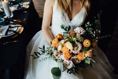 Stunning Inspiration For A Romantic Winter Wedding Winter Wonderland Theme, Beautiful Bouquets, Winter Wedding Inspiration, Summer Wedding, Wedding Decorations, Romantic, Gowns, Magazine, Weddings