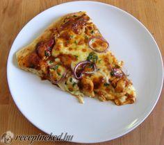 BBQ csirkés pizza Winter Food, Vegetable Pizza, Quiche, Cravings, Bbq, Recipies, Food And Drink, Favorite Recipes, Meals