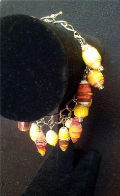 Sunrise Cascading charm bracelet