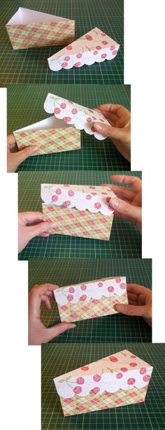 Things to make and do - Cake slice box