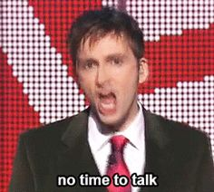 This very well may be the best David Tennant gif set of my life...