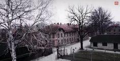 Niemiecki, nazistowski obóz koncentracyjny #Auschwitz -Birkenau z lotu ptaka. #zlotuptaka #zdrona  http://www.malopolska24.pl/index.php/2015/02/bbc-dronem-nad-auschwitz/