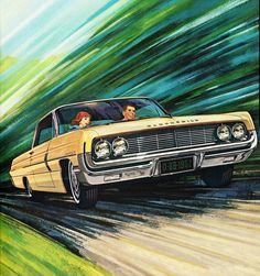 Vintage Oldsmobile Ad #design #art