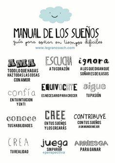 El Periódico de las Buenas Noticias. Manual de los sueños. #positivo #positivismo #EnergiaPositiva #BuenasNoticias