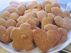 Πεντανόστιμα μπισκοτάκια αρωματικά κανέλας με πολύ λίγα υλικά !!! Dog Food Recipes, Snack Recipes, Snacks, Gingerbread Cookies, Cereal, Chips, Breakfast, Desserts, Christmas Recipes