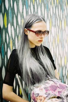 How about this; real silver-grey hair before your years. Amazing.