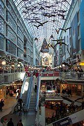 oh my Eaton Center Toronto...i enjoyed so many wonderful shopping hours there... need to go..... :-)