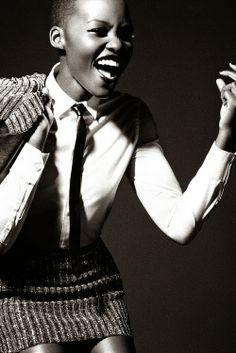 BLACKBEAUTYBAG: LUPITA NYONGO'O POUR VOGUE ITALIA FEVRIER 2014
