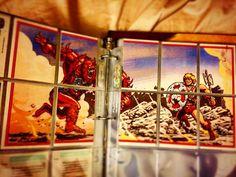 #heman #mastersoftheuniverse #motu #mattel #mattycollector #skeletor #beastman #shera Original 80s HeMan Trading Card Puzzle Card Set Complete. by alejandro_valdez