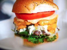 3 Cheese Roq Star Burgers