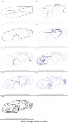 Car Drawing Pencil, Pencil Art Drawings, Art Drawings Sketches, Car Design Sketch, Car Sketch, Cool Car Drawings, Easy Drawings, Drawing Techniques, Drawing Tips