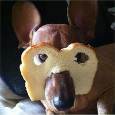 Bread mask!