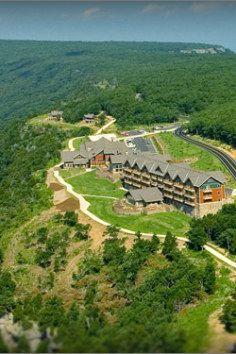 the highest point in Arkansas - Mt. Magazine
