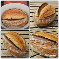 Kovászos kenyér éjjeli hűtős kelesztéssel | Betty hobbi konyhája Bakery, Lime, Cooking Recipes, Baguette, Breads, Foods, Kitchen, Brot, Food And Drinks