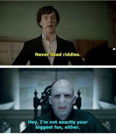 Sherlock meets Voldemort