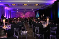 Another picture of the Award's Dinner.. came out great.