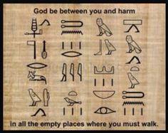Egyptian blessing