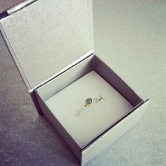 Silver, Gold & Aquamarine Stone - Ring Aquamarine Stone Ring, Stone Rings, Decorative Boxes, Container, Contemporary, Amp, Silver, Gold, Jewelry