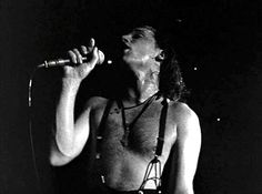 """Bono during """"Bad"""" from the Rattle And Hum movie"""
