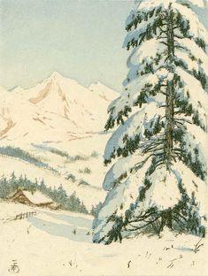 Mountainous Landscape in Winter - Paintings by Tavik Frantisek Simon  <3 <3
