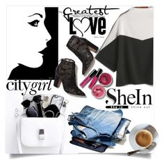 """""""shein"""" by perfex ❤ liked on Polyvore featuring Valentino"""