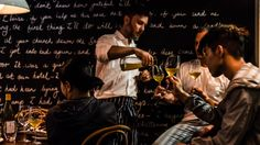 DEAR SAINTE ÉLOISE Waterman's Lobster Co. has been replaced with a small bar repping refined food and 350 wines.