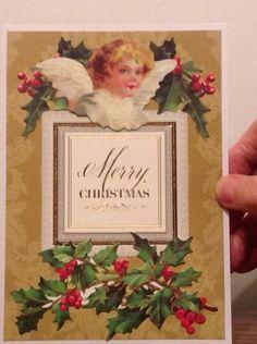 Anna Griffin Christmas card.