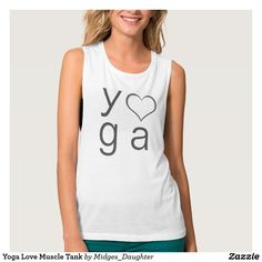 Yoga Love Muscle Tank