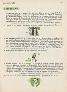 Manuels anciens: 1. La rentrée French Learning Books, Learn French, Spelling, Beginning Sounds, Learn To Speak French, Learning French