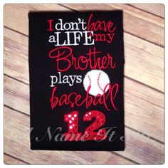 Hey, I found this really awesome Etsy listing at https://www.etsy.com/listing/155136602/baseball-sister-shirt