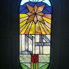 #StainedGlass #Handmade window #PinkJellyCrafts #HomeSweetHome