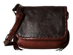 NEW FRYE Brown LAYLA CONCHO CROSSBODY HANDBAG Embossed Python Leather Sold  Out!! cc523e6e4d