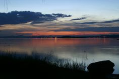 Insel Reichenau Abendrot Bodensee Hegau Heart Of Europe, The Places Youll Go, Switzerland, Twilight, Mountains, Nature, Southern, Photography, Travel