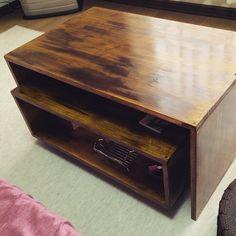 #mulpix 出来上がり♪  #テーブル #ネストテーブル #入れ子 #家具 #table #wood #woodwork #DIY