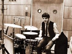 Paul in the drums