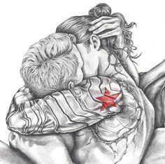 Jessie Lucid Art<<Bucky with a bun gives me life