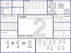 Fichas de matematicas - Fichas de numeros para imprimir