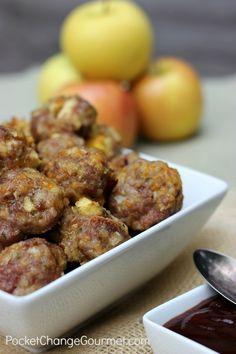 Pork and Apple Meatballs
