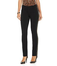 i want!! MICHAEL Michael Kors Luxe Studded Pants #Dillards